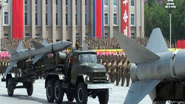 उत्तर कोरियाद्वारा लामो दुरीको रकेट परीक्षण