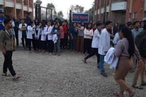 सीएमसीको विद्यार्थी होस्टलमा प्रहरी तैनाथ, आफू असुरक्षित रहेको विद्यार्थी नेता प्रकाश चन्दको भनाइ