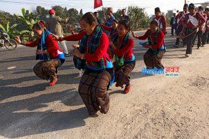 २० तस्बिरमा नेपाल जेसीजको नेपाल भ्रमण वर्ष २०२० को प्रवद्धनात्मक शान्ति र्याली