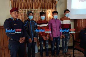 भरतपुरका २६ वर्षीय युवाको हत्या गरि सव गाड्ने ४ आरोपित सार्वजनिक