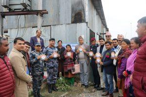 राप्ती क्षेत्रका उद्योगहरुमा औद्योगिक सुरक्षा स्टिकर टाँसको शुभारम्भ
