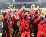 फुटबलमा नेपालले भुटानलाई हराउँदै जित्यो स्वर्ण पदक