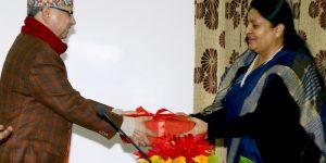 राष्ट्रिय मानवअधिकार आयोगको प्रतिवेदन ग्रहण गर्दै राष्ट्रपतिले भनिन्- द्वन्द्वको घाउ निको हुन समय लाग्छ