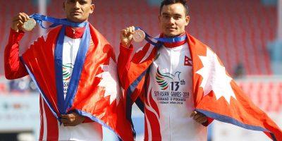 भारोत्तोलनमा नेपाललाई दुई स्वर्णसहित १४ पदक