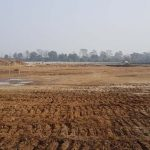 निर्माणाधीन क्रिकेट रंगशालामा मैदानको काम सुरु