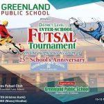 रजत वर्षको अवसरमा ग्रीनल्याण्ड स्कुलमा फुटसल प्रतियोगिता
