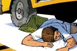 ट्रकको ठक्करबाट एक युवकको मृत्यु