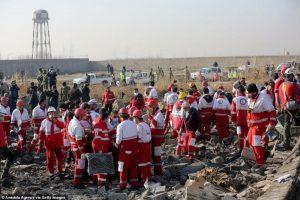 विमान दुर्घटना : इरानद्वारा अमेरिकी आरोपको खण्डन