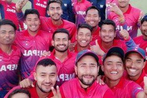 विश्व क्रिकेट लिग खेल्ने नेपाली टोलीको घोषणा