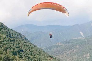 कास्कीमा प्याराग्लाइडिङको परीक्षण उडान सफल