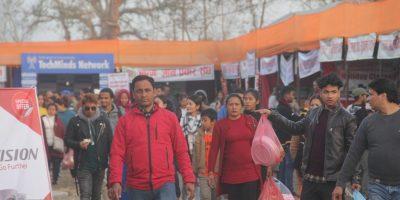 रत्ननगर महोत्सवमा दर्शकको आकर्षण बढ्दै