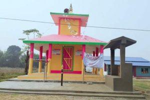 माडीको दुर्गा मन्दिरमा गणेश भगवान् र शिवलिङ्ग स्थापना गरिने