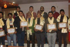चलचित्र पत्रकार संघ चितवनमा अधिकारीको नेतृत्व