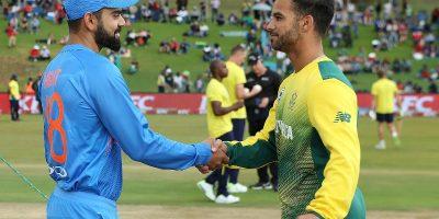 कोरोनाको त्रासले भारत र दक्षिण अफ्रिकाबीचको एक दिवसीय खेल रद्द, आइपीएल १७ दिन पछि सर्यो
