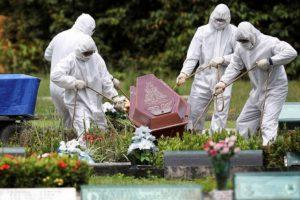 ब्राजिलमा कोभिड संक्रमणबाट एक लाख ३१ हजार ६६३ जनाको मृत्यु