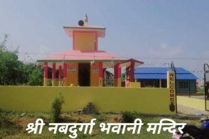 माडीको श्री नबदुर्गा मन्दिरमा बाघको मूर्ति स्थापना