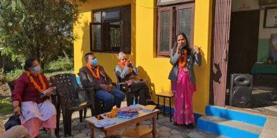 राष्ट्रिय आरोग्य दिवस एवं धन्वन्तरी जयन्तीमा रत्ननगरमा विशेष कार्यक्रम सम्पन्न