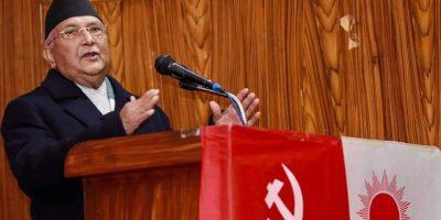 माधव कुमार नेपाल प्रचण्डको कार्यकर्ता भए- प्रधानमन्त्री ओली