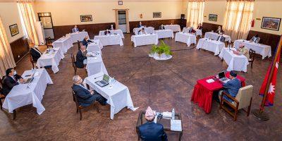 फागुन २३ गते नै संसद बैठक बोलाउने सरकारको निर्णय, राष्ट्रपति समक्ष सिफारिस