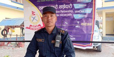 """रत्ननगरका डिएसपी ईन्द्र राना भन्छन्ः """"शान्ति सुरक्षा र व्यवस्था सुदृढ गर्न लाग्नेछु"""""""