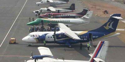 निगमले इन्धनको मूल्य बढाएसँगै वायुसेवा कम्पनीहरुले पनि बढाए हवाई भाडा