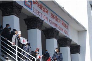 आयोगलाई प्रचण्ड–माधव समूहले फेरि दियो आधिकारिकता विवाद निरुपण गर्न भन्दै पत्र