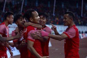 रंगशालामा नेपाललाई १९८४ पछि पहिलो उपाधि, बंगलादेश २–१ गोलले पराजित