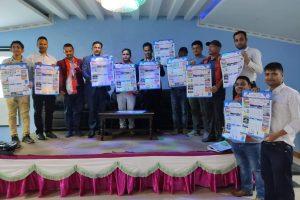 रत्ननगर जेसीजको आयोजनामा शुभकामना आदान प्रदान तथा भित्तेपात्रो बिमोचन कार्यक्रम सम्पन्न