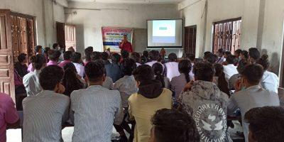 बैरिया मा.विका विद्यार्थीलाई सकारात्मक सोचको बिषयमा १ दिने प्रशिक्षण कार्यक्रम सम्पन्न
