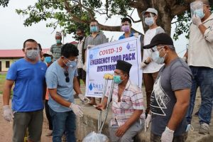 विपन्न बस्तिमा खाद्यान्नको अभाव हुन नदिन सिआरसी नेपाल र नेवाज मल्टिप्रपोज सोसाइटीको सहयोग