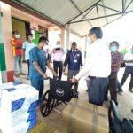 बघौडा अस्पताललाई एनआरएन बेल्जियम र रोटरी क्लब रत्ननगर गर्यो स्वास्थ्य सामाग्री सहयोग