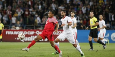 विश्वकप फुटबल छनोट खेलमा नेपाल बिरुद्ध जोर्डनको ३ गोल