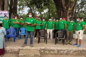 'नमस्ते ग्रुप'द्धारा १०५ सुकुम्बासी घरधुरीलाई राहत सामाग्री