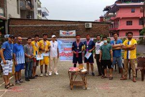 ब्याडमिन्टन प्रतियोगिताको उपाधि शुरेस र श्यामको जोडीलाई, उत्कृष्ट खेलाडी बने प्रमोद
