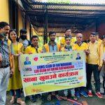 लायन्स क्लब अफ रत्ननगरको आयोजनामा देवघाटको वृद्धाश्रममा खाना खुलाउने कार्यक्रम सम्पन्न