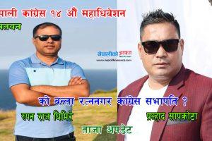 नेपाली कांग्रेस रत्ननगर निर्वाचनको मतगणनाको ताजा अपडेट