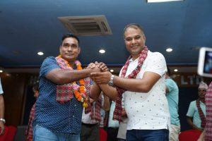 नेपाली कांग्रेस रत्ननगर नगर समितिकाे पद हस्तान्तरण कार्यक्रम सम्पन्न